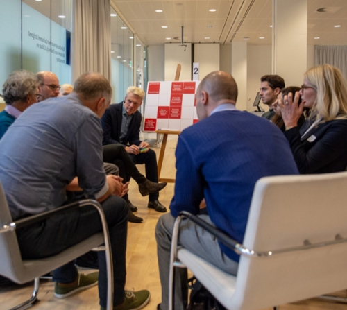 Groepsdiscussie op werkconferentie 2018